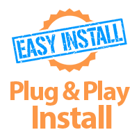 Easy to install (plug and play)