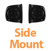 Mounts on the side