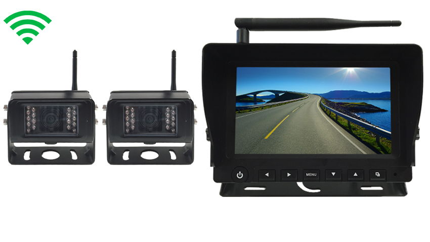 digital wireless backup camera system