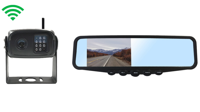digital wireless backup camera system image