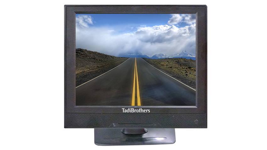 large size monitor for backup camera