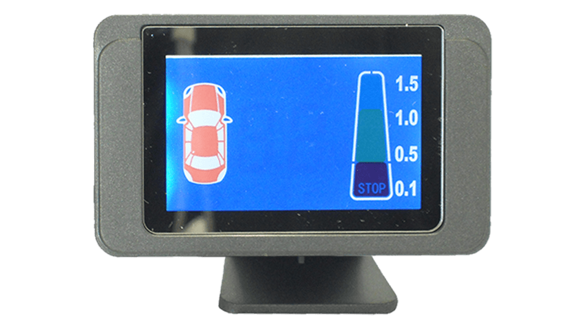 detailed monitor backup sensors