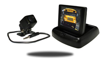 Mini Backup camera system with pop up monitor | SKU33548