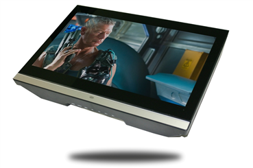 20'' Flipdown HD Screen with Built-In DVD Player
