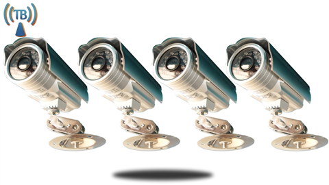IP Camera (Outdoor IP) 4 PACK