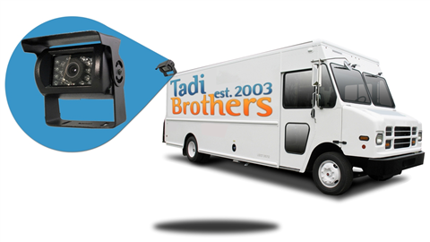 Backup Camera system | Delivery Truck and Delivery Van | SKU494640