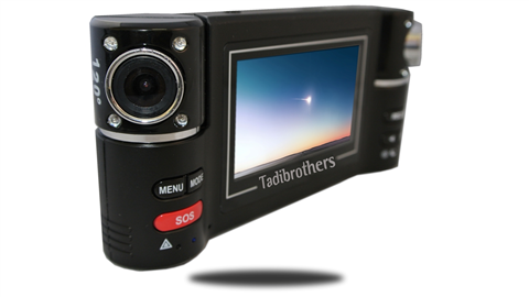 Dual Lens 2.7-Inch Dash Camera for cars | SKU56897