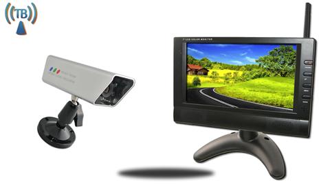 7 Inch Monitor and 120 Degree Wireless Magnet Backup Camera SKU-81890