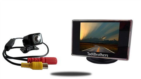 3.5-Inch Monitor with 150° Rearview Camera | SKU26737