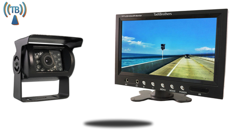 10.5 Inch Monitor with Wireless CCD Mounted RV Backup Camera