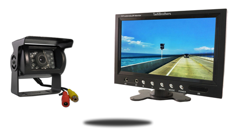 CCD rv backup camera with 10.5