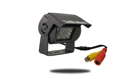 170 degree birds-eye view hi-red CCD RV backup camera for RVs, trailers, campers, 5th wheels, and many more.