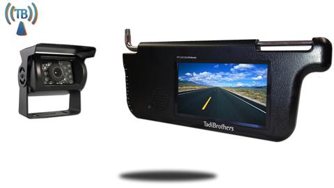 Wireless RV Backup Camera with Visor Monitor | Tadibrothers | SKU-77117
