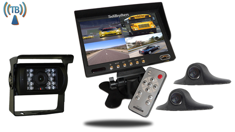 7'' Wireless Ultimate RV Trailer Backup Camera System