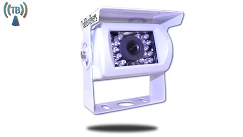 120° Degree White RV Backup Wireless Camera (Hi-Res CCD) (Birds Eye View)   SKU93215