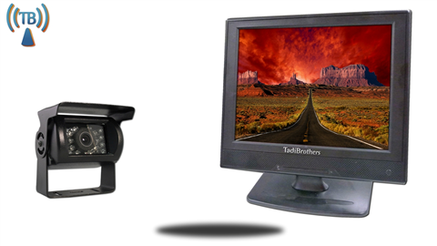 12 Inch Monitor with Wireless Mounted RV Backup Camera.  Great for RV's!