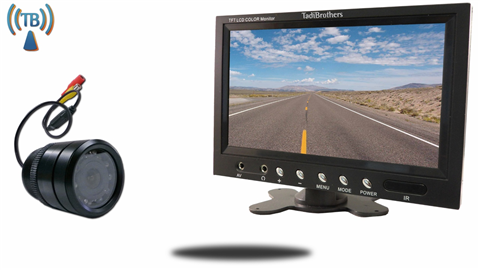 7 inch Monitor and a Wireless 120° Bumper Backup Camera Great for A Car or RV