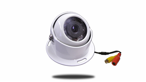120° Wireless Round Heavy Duty RV Backup Camera (Birds Eye View) |  SKU24389