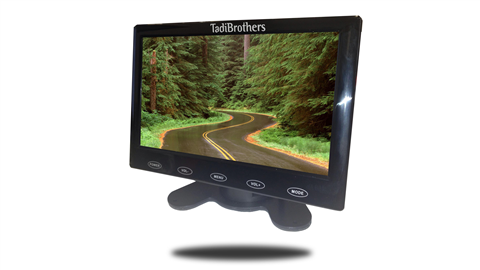 7-Inch LCD Slim Monitor for any Backup Camera | SKU241277