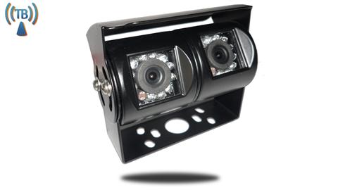 Double 120° Degree RV Backup Camera Wireless (Hi-Res CCD) (Birds Eye View) | SKU52318