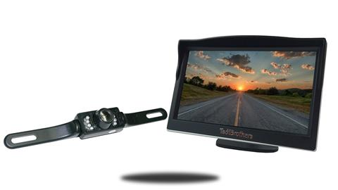 License Plate Backup Camera | 5-Inch Monitor | SKU56248