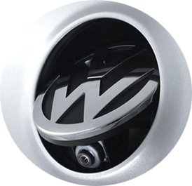 The Volkswagen emblem pop open camera is the ultimate in low-profile backup cameras! Pops open when vehicle is in reverse.