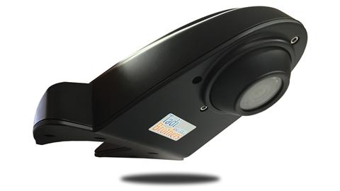 The overhang roof backup camera for large vehicles eliminates blind spots.