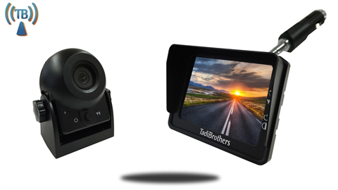 Digital Wireless Portable Hitch Camera with Plug and Play Magnet and 3.5-Inch Monitor SKU-81900