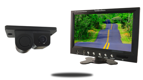 Monitor and Camera with Sensor