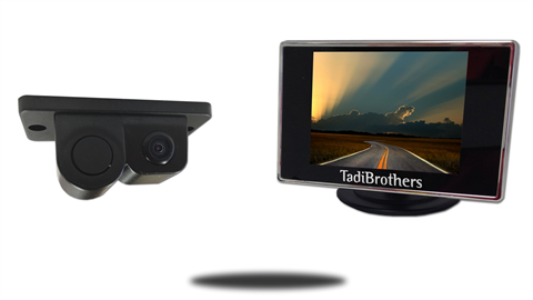 Monitor with Camera and Sensor