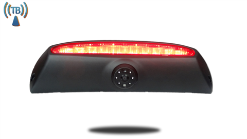 The Iveco Daily backup camera is designed to replace the existing brake light housing with an integrated CCD backup camera.