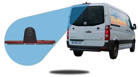 Volkswagen Crafter Van Third Brake Light Backup Camera