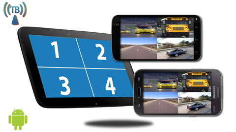Android Split Screen Backup Camera Kit | SKU96183