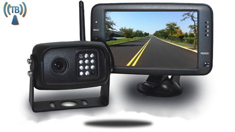 Digital Wireless pickup truck Backup Camera 3.5-Inch Monitor SKU-99156
