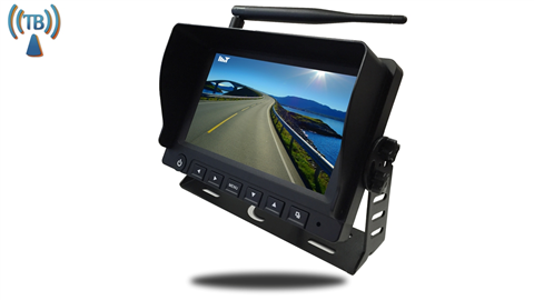 7-Inch LCD Monitor for any Built In Digital Wireless Backup Camera [Commercial Grade] | SKU13409