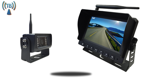 7-Inch Monitor with Built In Digital Wireless 130° Backup Camera and Audio | SKU-90121