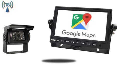 Wireless RV Backup Camera & WiFi Monitor IOS Android Mirroring   SKU26038