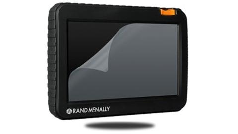 Rand Mcnally Monitor GPS screen