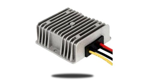 Power converter for reverse camera