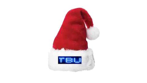 LED Santa Hat