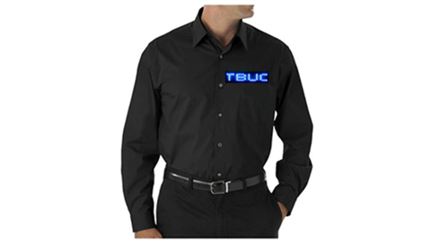 Blue LED Dress Shirt