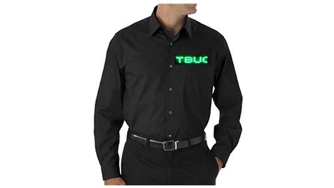 Green LED Dress Shirt