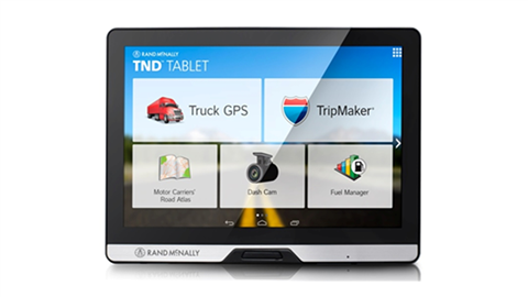 Rand McNally Truck Tablet 80