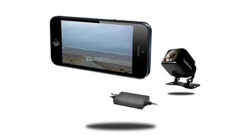 IPhone Backup Camera works with iPad, iPad mini, iPod (iOS) | SKU11557