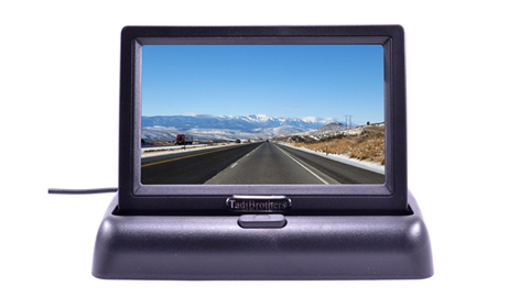 3.6-Inch Pop-up LCD Monitor for any Backup