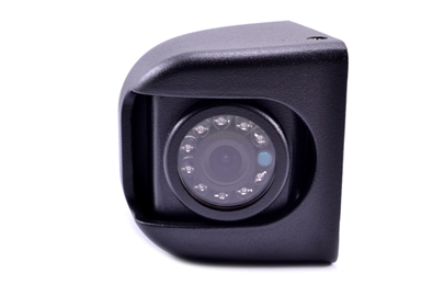 The premium hi-res CCD side camera comes in a heavy duty metal housing, and includes swivel adjustment of the lens.