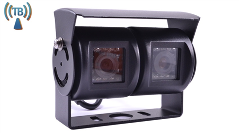 Double 120° Degree RV Backup Camera Wireless (Hi-Res CCD) (Birds Eye View) | SKU52318