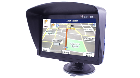 GPS for cars with an optional backup camera | SKU34273