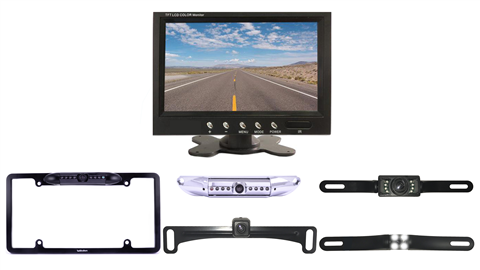 Choose the License plate backup camera that fits your budget and needs