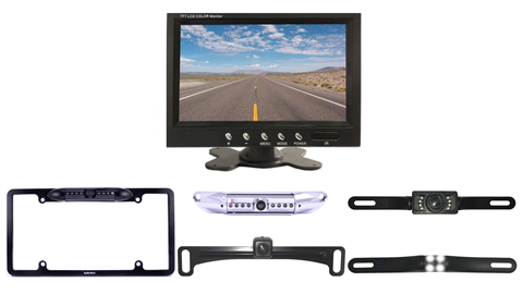 Choose a wireless License plate backup camera that fits your budget and needs